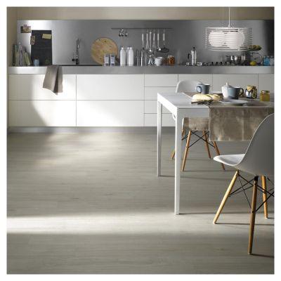 Piso vinílico Cerezo Gris 94.2 x 15.7 cm x 2 mm