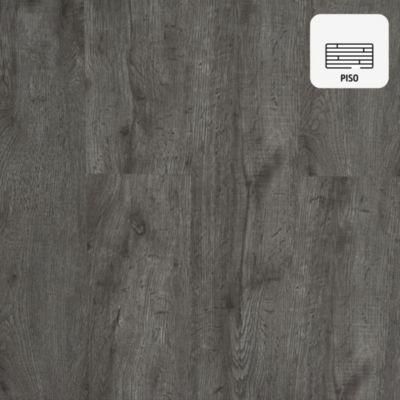 Piso Vinílico Gris Oscuro 94.2 x 15.7 cm x 2 mm