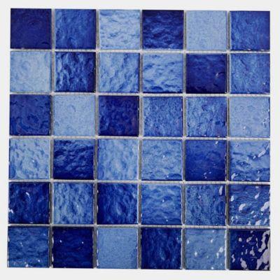 Malla decorativa 30x30cm azul