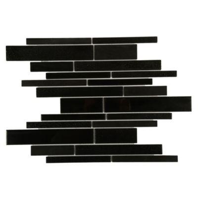 Malla decorativa 30x30cm Negro y gris
