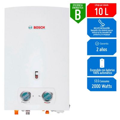 Calentador a gas Comfort 10L GN