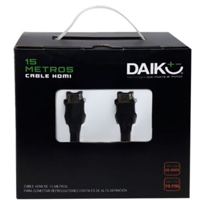Cable HDMI 15m