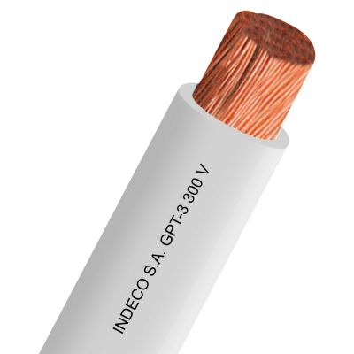 Cable GPT 18 AWG Blanco x 100 m