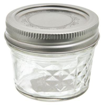 Set de 12 frascos de vidrio 4 Oz