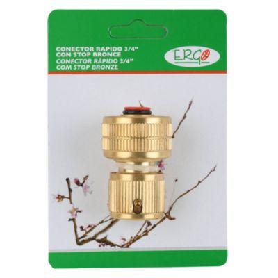 """Conector 3/4"""" de bronce"""