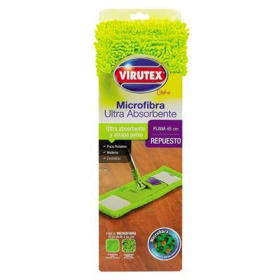 Repuesto de Mopa Plana Microfibra