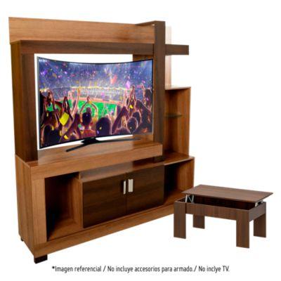 Combo Centro de entretenimiento Anita - 48'' + Mesa elevable Max