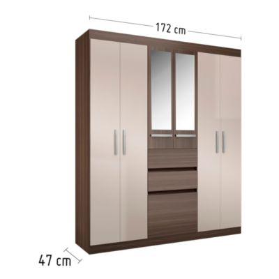 Ropero Berna 7 puertas y 2 cajones
