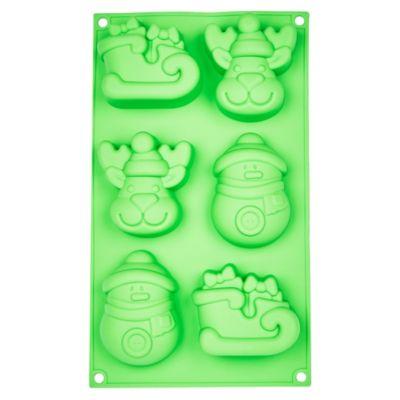 Molde de silicona para repostería 6 modelos
