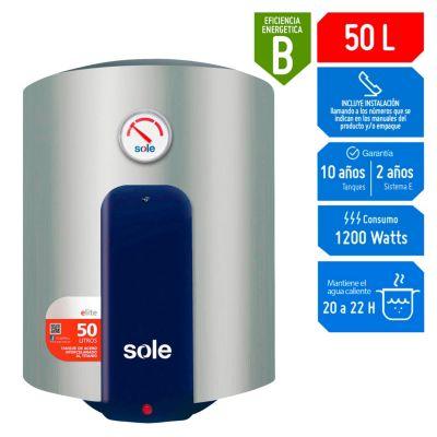 Terma eléctrica de acumulación 50L