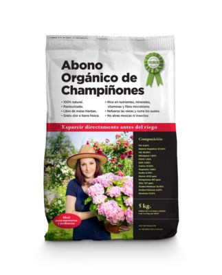 Abono orgánico de Champiñones 5 Kg