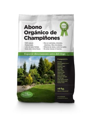 Abono orgánico de Champiñones 10 Kg