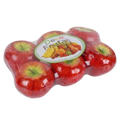 Set de 6 manzanas decorativas