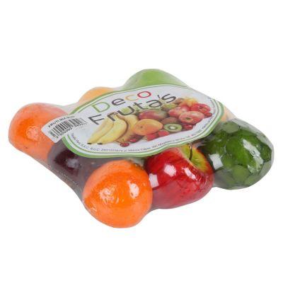 Mix de frutas decorativas x 9 piezas