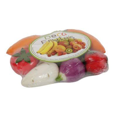 Set de 9 verduras decorativas
