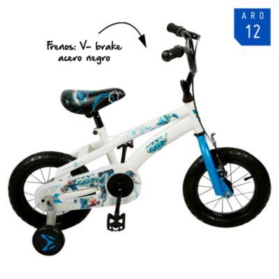 Bicicleta Aro 12 Max Steel
