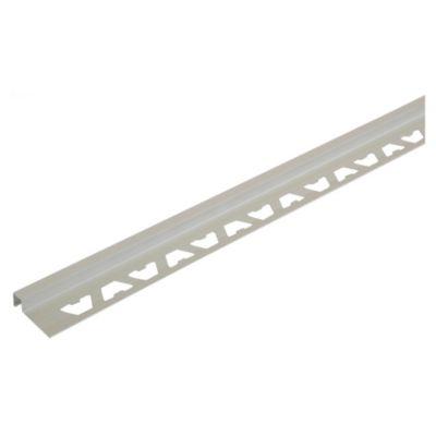 Perfil para Revestimiento Aluminio Satinado Plata