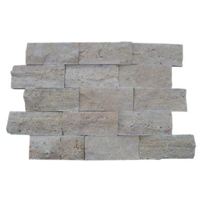 Mosaico Travertino 6.5x15cm 0.623m2