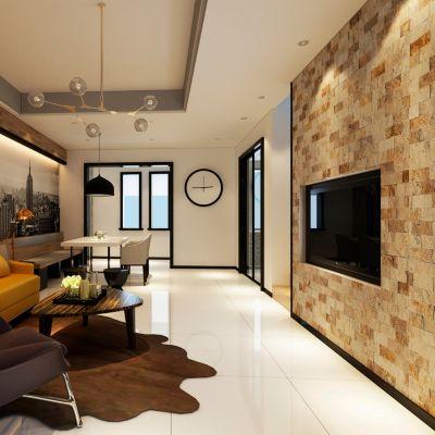 Mosaico Traventino 4.8x10cm 0.46m2