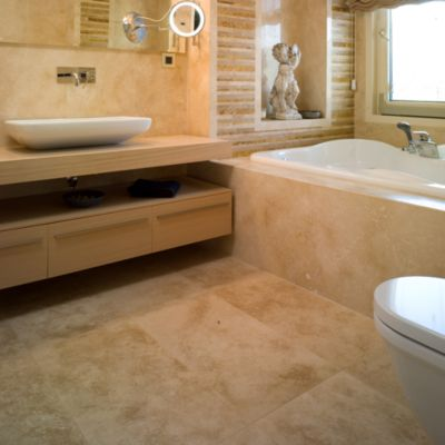 Piedra Travertino Beige 46x46cm 0.83m2