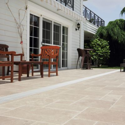 Piedra Travertino Beige 60x41cm 0.74m2
