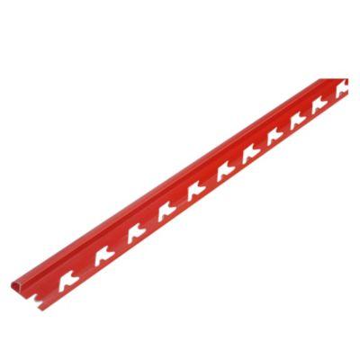 Perfil para Revestimiento PVC Porcelanato Rojo Vivaz 252A14