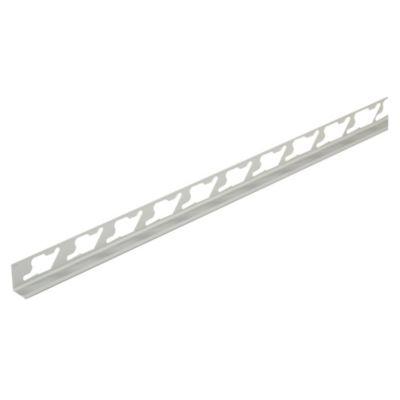 Ángulo Aluminio Satinado Plata 61G290