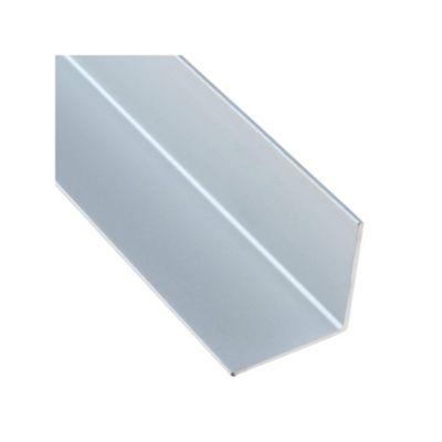 Ángulo Aluminio Satinado Plata 852D