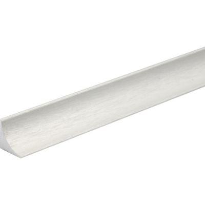 Perfil de aluminio cepillado plata