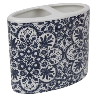 Portacepillo cerámica Allegra 10x10cm