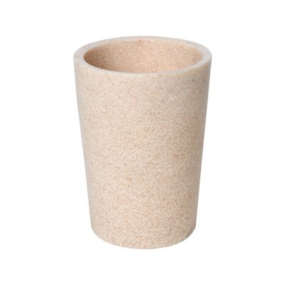 Vaso piedra beige 10x10cm