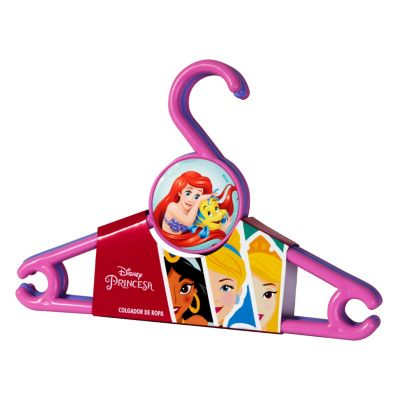 Set 3 colgadores de ropa Princesas