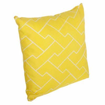 Cojín Bloques amarillo 45 x 45 cm