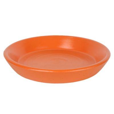 Plato genérico naranja 24cm