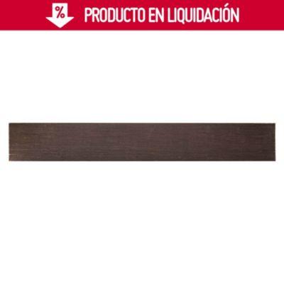Piso de Madera Bambú Marrón Oscuro 91x13cm 2.37cm