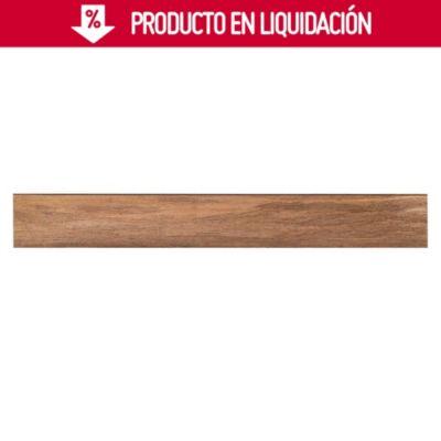 Piso de Madera Bambú Marrón 91x13cm 1.92m2