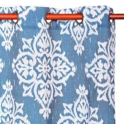Cortina de Tela Medina Azul 140x220