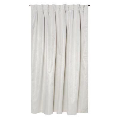 Cortina de Tela Pinzas Crema 140x220 cm