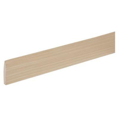 Zócalo boleado c/ rodón 1.2x7x240cm Oak Ma