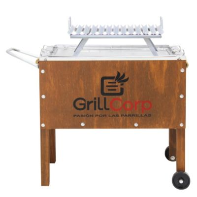 Caja China Junior Premium + Parrilla V fija