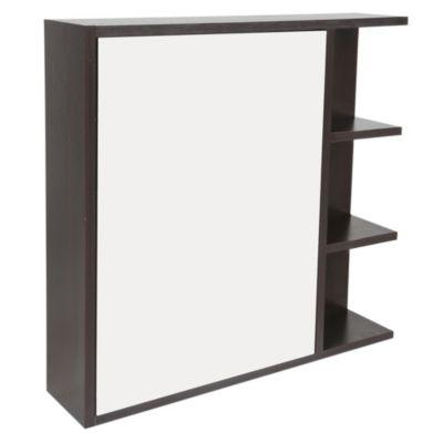 Gabinete con puerta y espejo