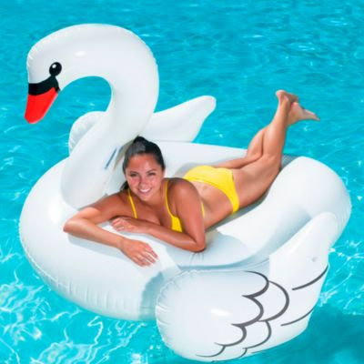 Cisne inflable Jumbo Ride On