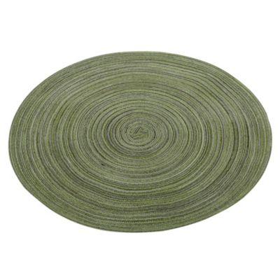 Individual redondo verde 36cm