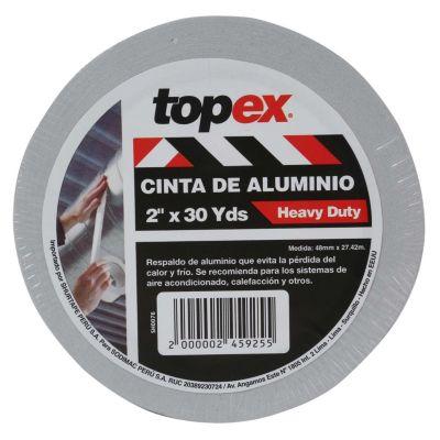 Cinta de Aluminio de 2'' x 30 Yds