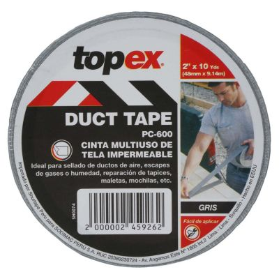 Cinta Ductape Topex 2'' x 10 Yds