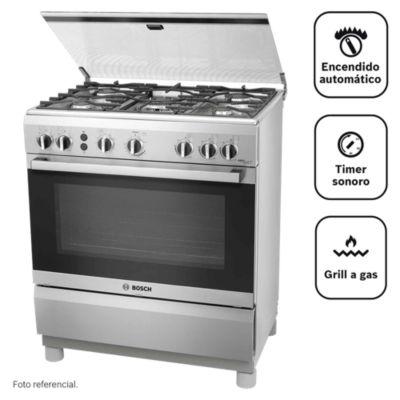 Cocina a gas 5 quemadores PRO547