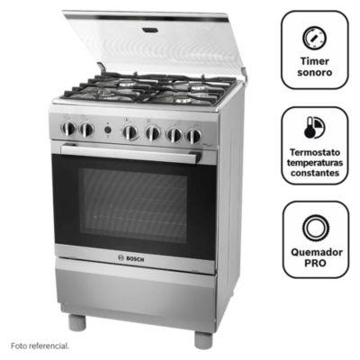 Cocina a gas 4 quemadores PRO447