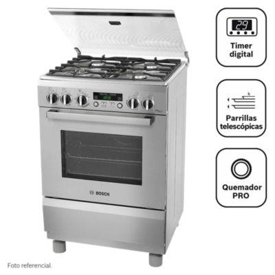 Cocina a gas 4 quemadores PRO465