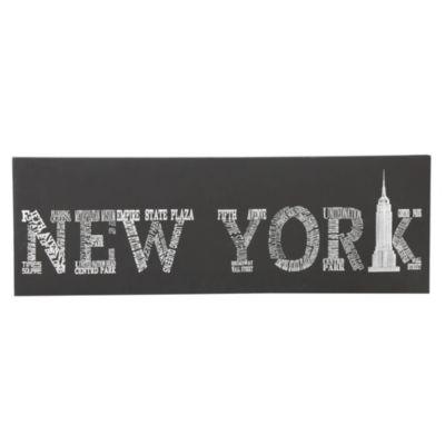 Canvas New York 30x90cm