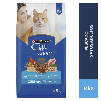 Cat Chow Adultos Pescado 8kg